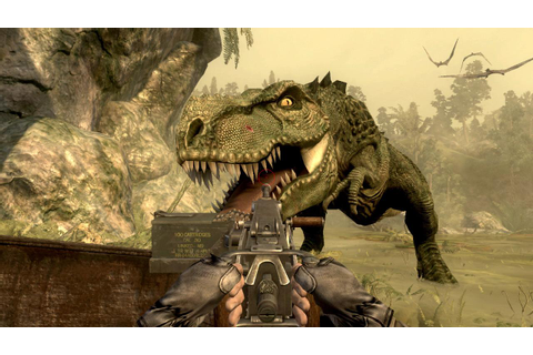 Healed1337's Blog of Doom: Game review - Jurassic: The Hunted