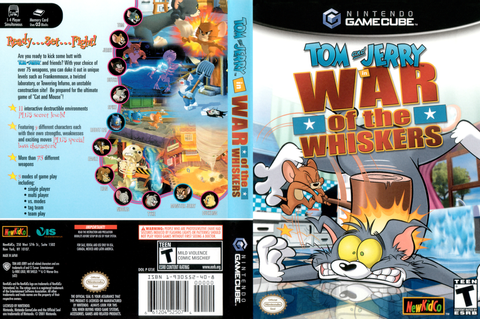 GTJE5L - Tom & Jerry in War of the Whiskers