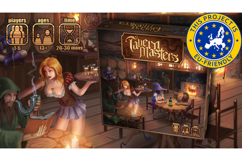 Tavern Masters - Extended Print Run by Dann Kriss ...