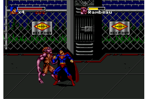 Death and Return of Superman, The (USA) ROM