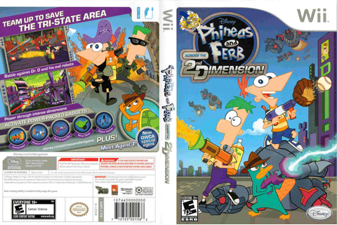 Games Covers: Phineas And Ferb - Across The 2nd Dimension ...