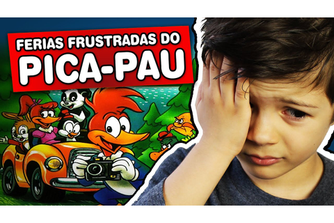 Férias Frustradas do Pica-Pau - Megadrive - Gameplay ...
