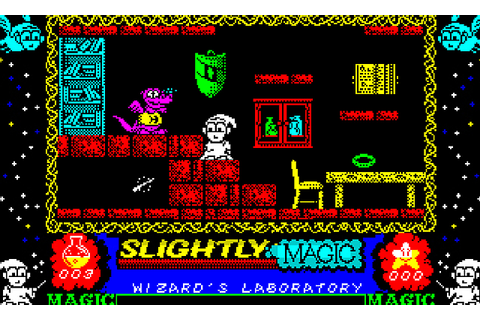 Indie Retro News: Slightly Magic - The ZX Spectrum classic ...