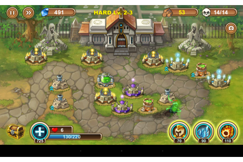 Tower Types - Castle Tower Defense Walkthroughs and ...
