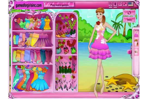 barbie dress up games - Only for you girl! - YouTube