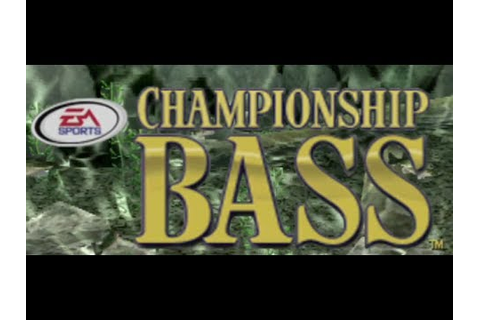 Classic PS1 Game Championship Bass on PS3 in HD 1080p ...
