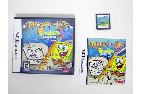 Drawn to Life SpongeBob SquarePants Edition game for ...