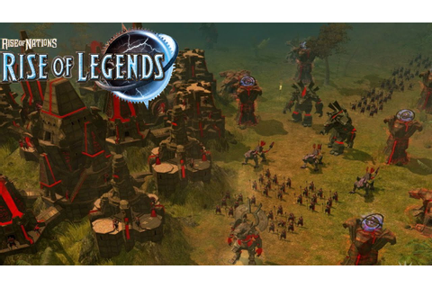 Rise of Legends - Cuotl Gameplay Ancient Aztecs! - Rise of ...