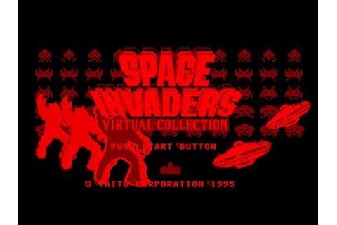 Virtual Boy Longplay [05] Space Invaders - Virtual ...