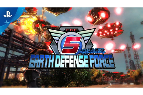 Earth Defense Force 5 - 1st Trailer | PS4 - YouTube