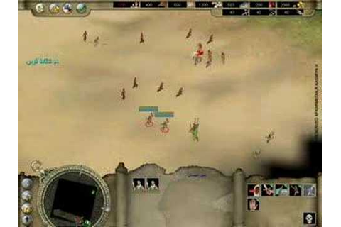 Quraish .. the first RTS arabic game (1) - YouTube