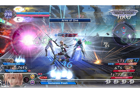 Dissidia Final Fantasy NT Hud Is Now Much Cleaner
