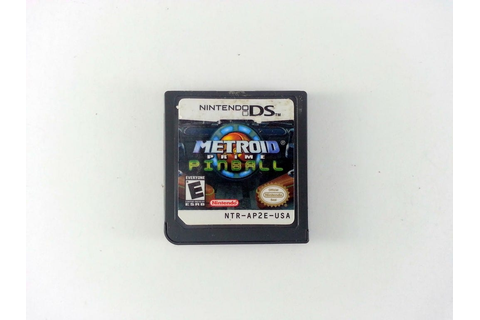 Metroid Prime Pinball game for Nintendo DS (Loose) | The ...