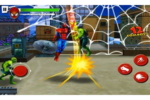 Ultimate Spiderman Total Mayhem APK HD _v1.01.apk with OBB ...