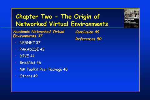 Chapter Two — The Origin of Networked Virtual
