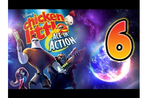 Chicken Little Ace in Action Walkthrough Part 6 (Wii, PS2 ...