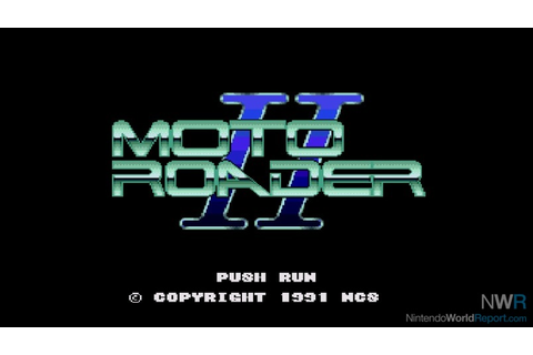 Moto Roader II - Game - Nintendo World Report