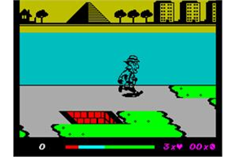 Inspector Gadget and the Circus of Fear - Sinclair ZX ...