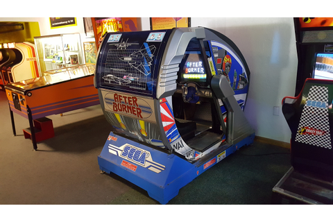 Arcade Heroes Happy 30th Birthday to Sega's After Burner ...