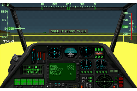 Gunship 2000 (1991) by Microprose MS-DOS game
