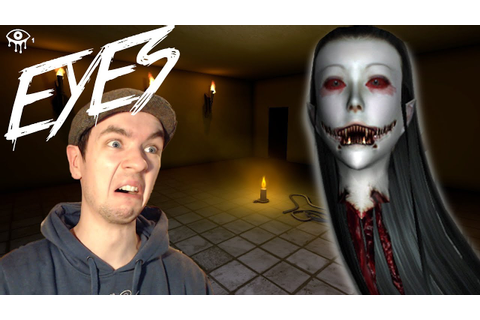 Eyes | BEST BURGLAR EVER! | Indie Horror Game | Commentary ...