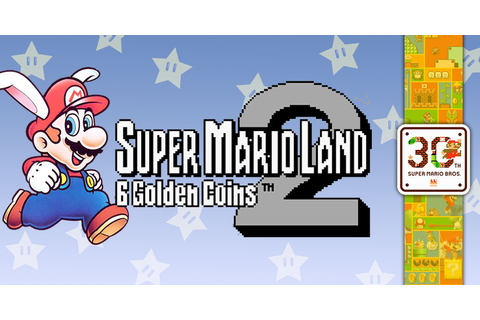 #Mario30th: Super Mario Land 2: 6 Golden Coins (GB ...