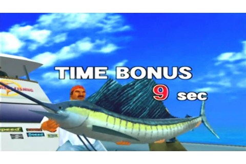 Sega Marine Fishing Game Sample - Dreamcast - YouTube
