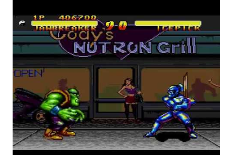 Double Dragon V : The Shadow Falls - (Mega Drive ...