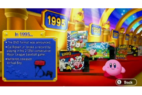 Kirby's Dream Collection: Special EditionScreenshots (Wii)