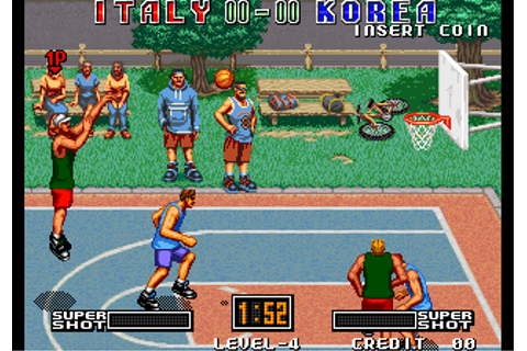 Play Street Hoop SNK NEO GEO online | Play retro games ...