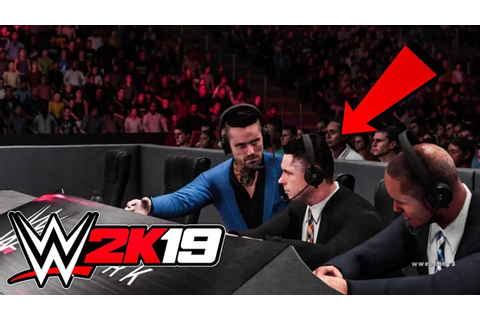 WWE 2K19 Realistic Commentary (Gameplay Concept) - YouTube
