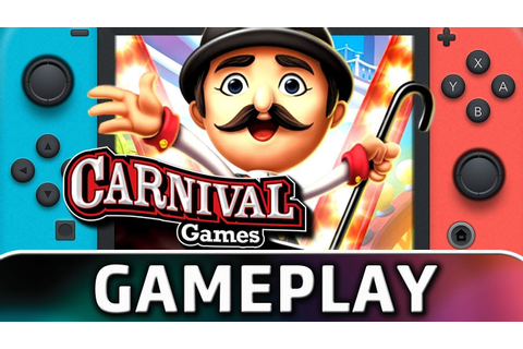 Carnival Games | First 15 Minutes on Switch - YouTube