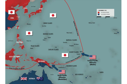 The Pacific Strategy, 1941-1944 | The National WWII Museum ...