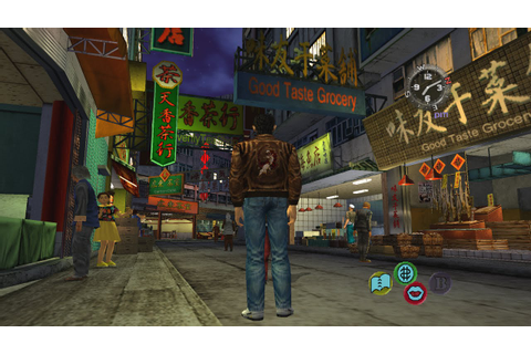 Shenmue II Music: Green Market Qr. Night (Extended ...