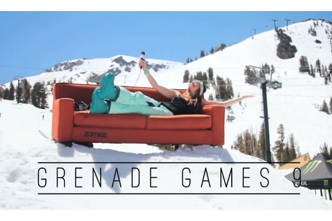 Grenade Games 9: Mammoth Mountain - Snowchamps