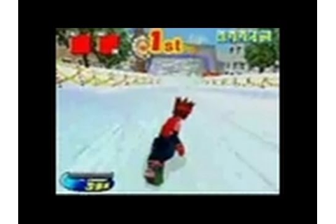 SBK: Snowboard Kids Nintendo DS Gameplay - Gameplay - YouTube