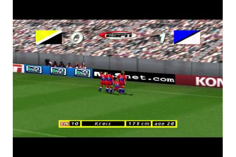 ESPN MLS GameNight Gameplay (2000) All Star Match - PSX ...