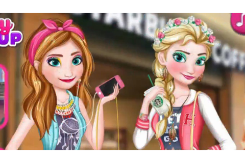 Frozen Elsa and Anna Shopping - Frozen Games for Kids ...