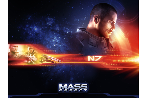 game wallpapers - mass effect wallpaper