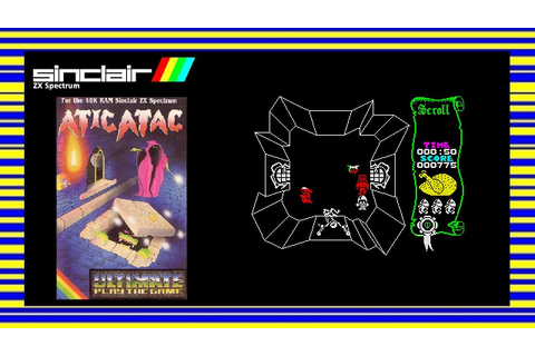 ATIC ATAC - ZX Spectrum Game Review - YouTube