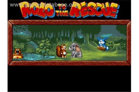 Rolo to the Rescue - Sega Nomad - Games Database