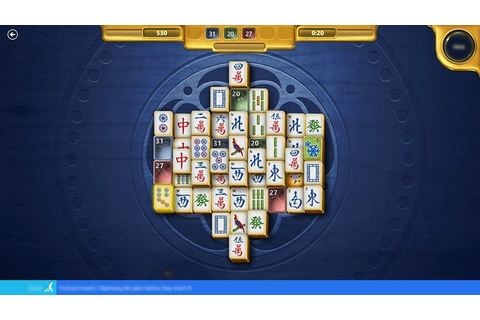 Microsoft Mahjong app for Windows in the Windows Store