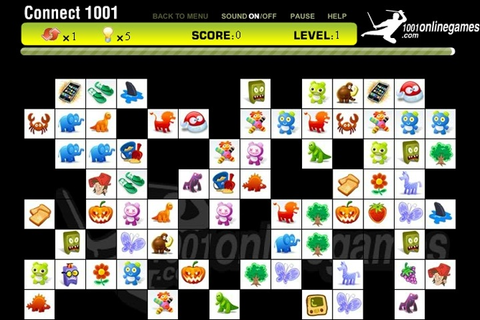 Connect 1001 Game - Puzzle games - Games Loon