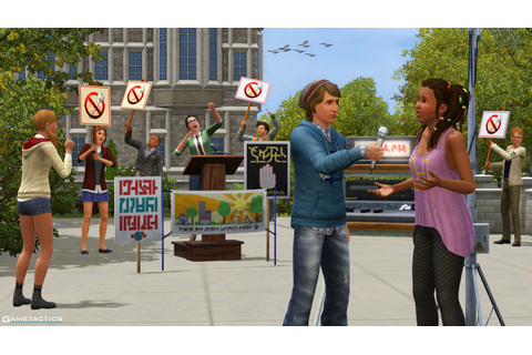 The Sims 3 University Life Review – Windows PC ...