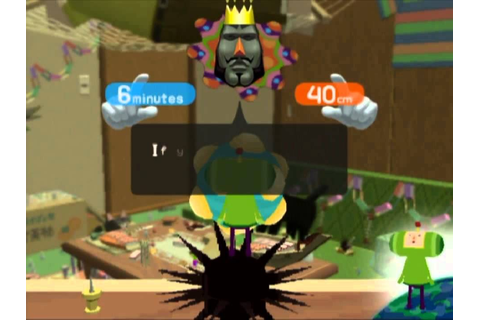 We Love Katamari Gameplay PS2 - YouTube
