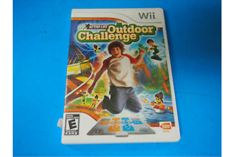 Wii Active Life Outdoor Challenge [Game only] and case ...