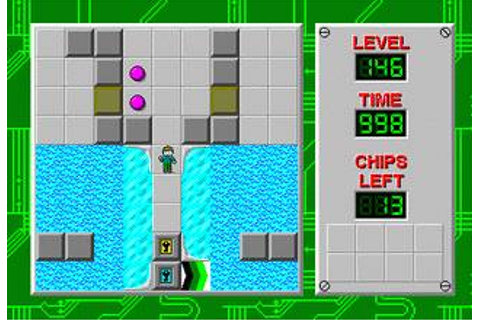 Chip's Challenge Download (1990 Puzzle Game)
