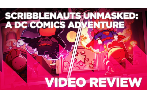 Scribblenauts Unmasked: A DC Comics Adventure Review - YouTube
