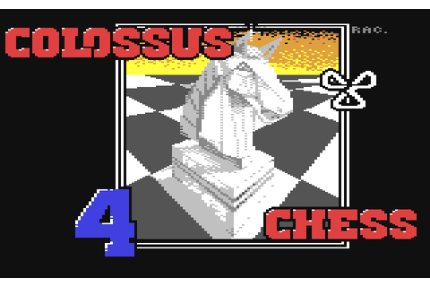 Colossus Chess 4 (1985) by CDS Software C64 game