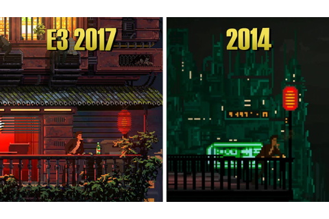 The Last Night - 2014 Flash Game VS E3 2017 Trailer ...